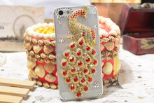 Factory price 2015 fashion mobile rhinestone phone back cover