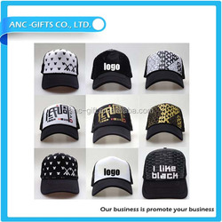 High quality logo 3d embroidered baseball cap 100%cotton promotional baseball hat with custom logo printed