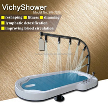 Enjoyable herbal treatment beauty spa equipment,Water Massage table shower bed