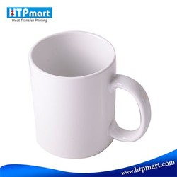 manufactures of porcelain mug personlaised orca coating promotional white blank stoneware coffe cup