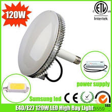 led replacement for metalhalide aluminimum fins heat sink gas station light 100w led high bay light