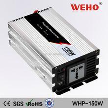 Plug choose by yourself 150w dc 48v to ac 110v pure sine wave mppt solar inverter