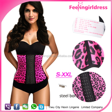 Wholesale 100% Natural Latex Plus Size Waist Training Corset in Stock