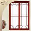 Japanese style shoji double sliding door
