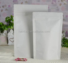Cheap White Paper Bag with Handle/White Kraft Paper Bag/Coffee Bag