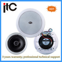 "Public address indoor powered 6"" in ceiling speaker system"
