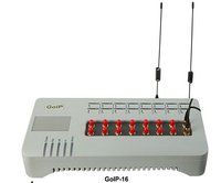 16 sim cards GOIP 16 GOIP-16 Quad band VOIP GOIP GSM Gateway 16 Channels GOIP IMEI change support sim bank