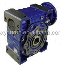Iron die casting NMRV130 worm gear arrangement gearbox