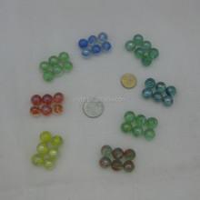 Envío gratis 500 unids 14 mm alta calidad bola cristal para pintura de aerosol de vidrio brillo de labios bola de navidad decorar juguetes de bolas