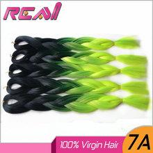 Synthetic Braiding Hair Two Tone Yaki Hair Braid Styles