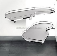 Kitchen pull out swing trays