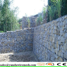 Anping Hongshan hot sale high quality welded gabion box for slope protection
