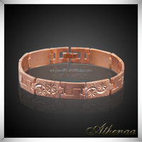 Classic High Quality Copper Jewelry Wholesale Keith Richards Handcuff Bracelet