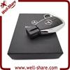 wedding gift Wholesale car metal key usb 8GB 16GB 32GB usb flash drive cheap
