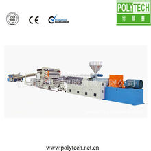 wood plastic composite board sheet extrusion machine unit /complete line for make pvc wpc ps epe foam sheet