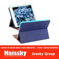 2014 New arrival for ipad mini leather flip case