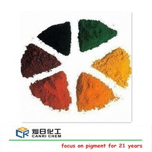 2015 new product red/yellow/green/blue iron oxide pigment