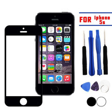 Replacement Front Glass Screen Cover For Apple iphone 5S