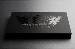 2015 black box packaging box, high quality grey board paper box packaging with UV surface handling custom logo printing box