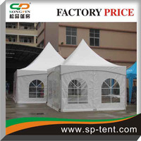 small marquee tent 4mx4m in aluminum structure for garden party