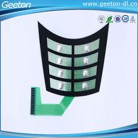 Polyester/ PET Embossed Button Keypad Membrane Keyboard