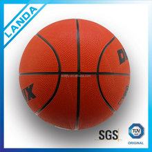 colorful rubber promotional cheap basketball