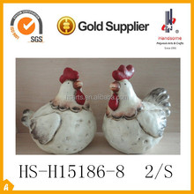 "8""chicken terracotta garden decoration"