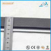 Polyester Colored woven elastic webbing for garment