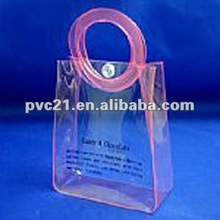 REACH standard high quality pvc gift bag high quality and luxury Body bath gift works in PVC bag