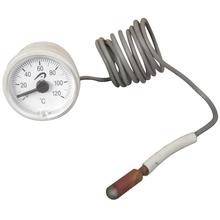 termómetro capilar con plástico