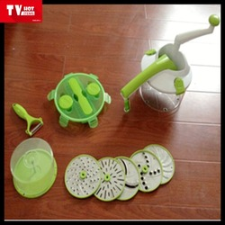 New designs & best selling manual salad vegetable chopper and spinner Multi-function Food Grade