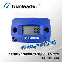New product;RL-HM018R Resettable Inductive Tachometer For Motorcycle,jet ski,mini snowbile,tractor,ATV,snowblowers,Golf Carts