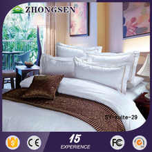 100% cotton fashion for hotel style dobby design bedding set