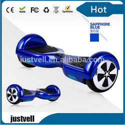 2 Wheel self-balancing electric motorcycle with led light, 2 two wheels self balance electric scooter