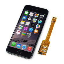 2 SIM card extension protective case for iPhone 6S