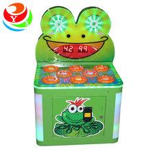 Department stores Happy Frog kids hammer game machine for children