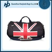Stylish functional custom vintage canvas duffle bag