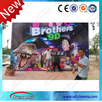 Exciting simulator 5D 7D 9D game machine, 6D cinema theater system