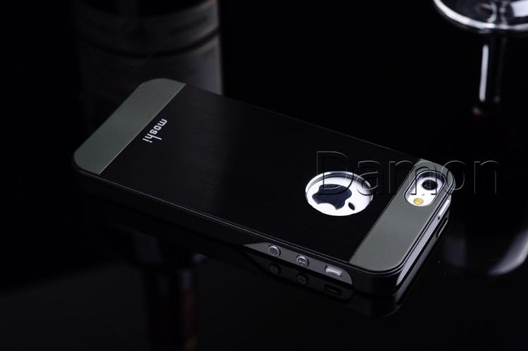 Новый роскошный матовый алюминиевый чехол для iphone 4 4 g 4s-гибрид металлическая крышка протектор для apple iphone 4 4s