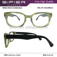 High Quality Keyhole Buffalo Horn Eyeglasses Frames