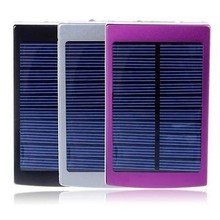 50000mAh Solar Panel External Battery Portable USB Power Bank Charger