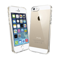 BRG Wholesale premium crystal transparent tpu case for iphone 5 5s, cover for iphone 5 5s