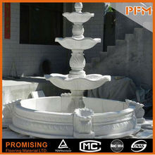 PFM Chinese outdoor tiers fountain outdoor ponds and fountains for hotel&villa project design