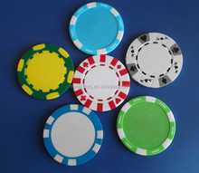 Shenzhen customize logo poker chip/11g clay casino chip