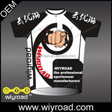 Accept sample order cycling jersey white and black/t-shirt cycling wear/race cycling clothes