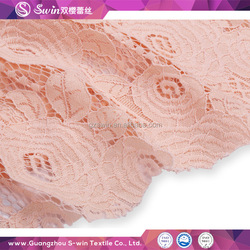 Wedding dresses material guipure lace fabric / wholesale lace fabric in lace