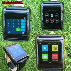 modern new arrival MaPan MW02 hand watch mobile with remote shooting, excellent quality watch phone best buy