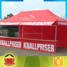 Cheap pop up folding tent with custom printing