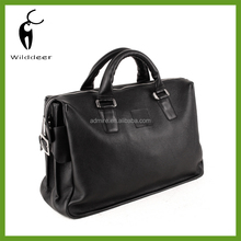 leather brown hand bag lawyer case portfolio business Bag AD-1452