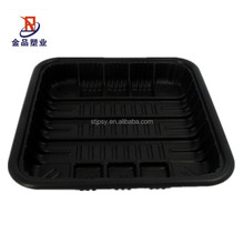 Disposable Plastic Fruit Tray Seafood frozen meat tray